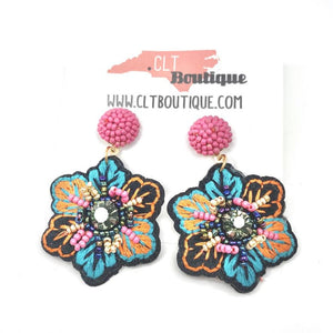 The Sao Paulo Earrings - CLT Boutique
