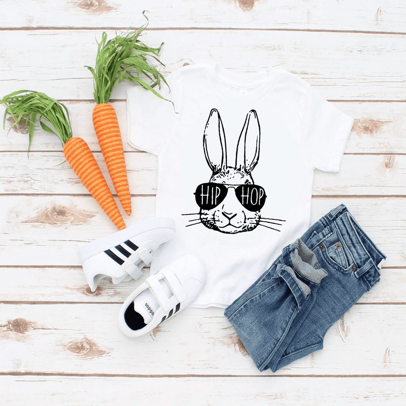 Hip Hop Easter Bunny Shirt