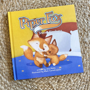 Piper Fox Shows Kindness Children's Book