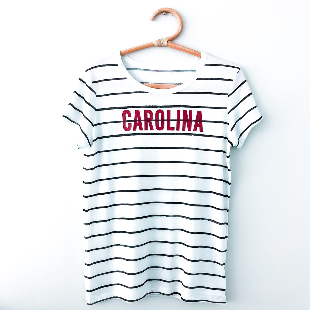 South Carolina Striped Tee