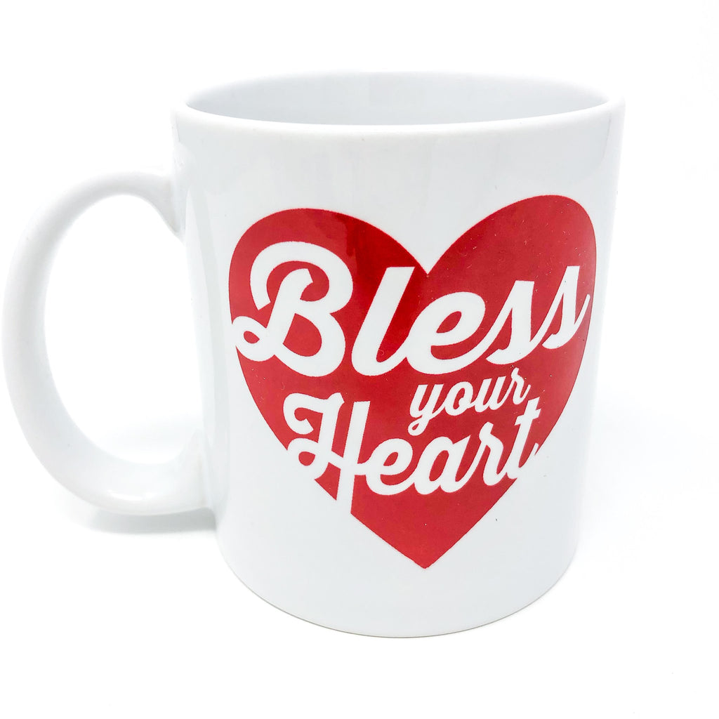 Bless your heart, mug, gift, funny mug, southern, southern sayings, handmade, unique, gift for her