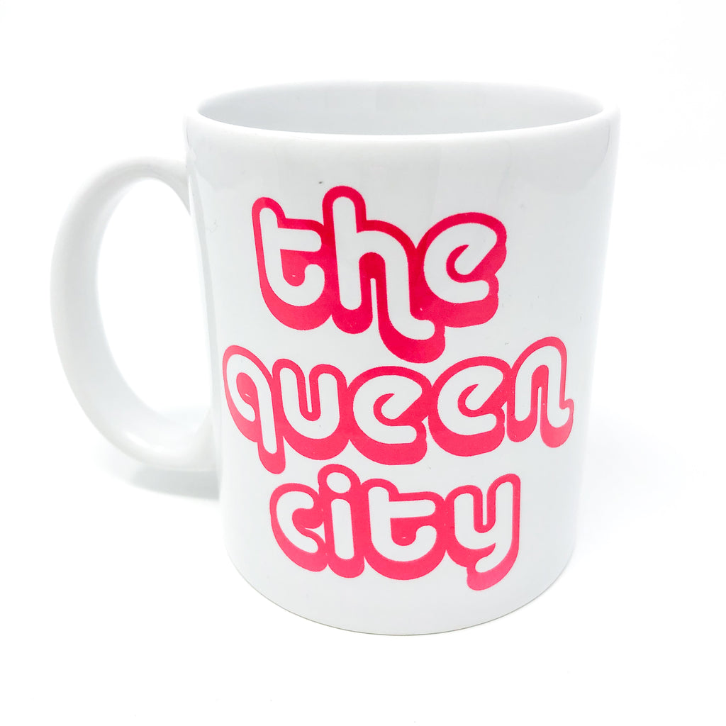 charlotte, nc, north carolina, camp mug, metal mug, coffee lover, clt, 704, queen city, the queen city, queen charlotte, handmade, mug, coffee mug, local, unique gift, coffee lover, the queen city, QC, queen charlotte, gift, mug, tea, mug life, 704