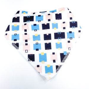 Squared Off  Bib - CLT Boutique