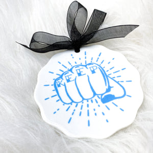 Keep Pounding Ornament - CLT Boutique