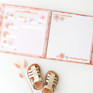 Flower Child Memory Book