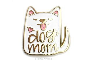 Dog Mom Enamel Pin - CLT Boutique