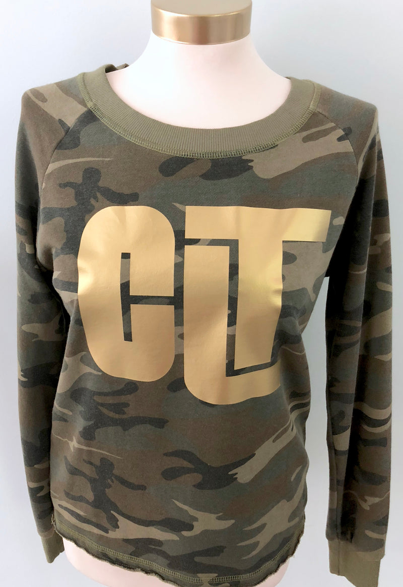 CLT Camo Sweatshirt - CLT Boutique