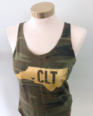 Camo North Carolina Tank