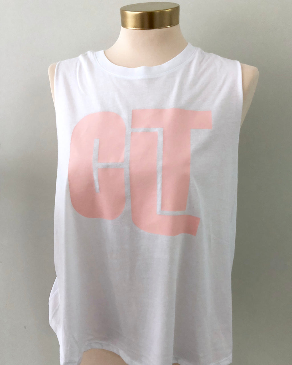 White CLT Crop Top