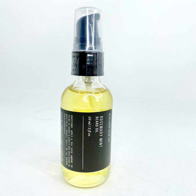Rosemary Mint Beard Oil - CLT Boutique