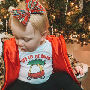 christmas, holiday, cozy coupe, christmas tree, holiday shirt, they see me rollin, riding dirty, funny kids shirt, fashion, baby, toddler, style, handmade, gift, etsy