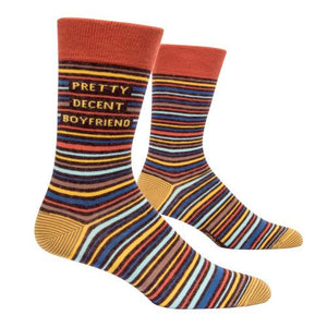 Pretty Decent Boyfriend Socks - CLT Boutique