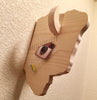 Wooden Animal Head