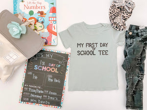 First Day Adult Tee