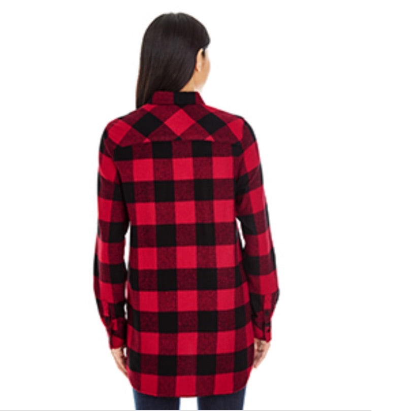 Adult custom flannel