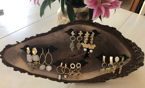Wooden Jewelry Display (without the Jewelry)