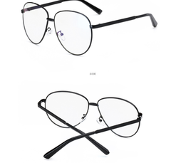 Oversized Clear Frames - 4 Frame Colors