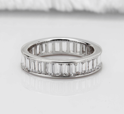 Nora NYC 925 Sterling Silver Square Ring