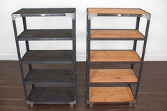 best matching industrial shelves