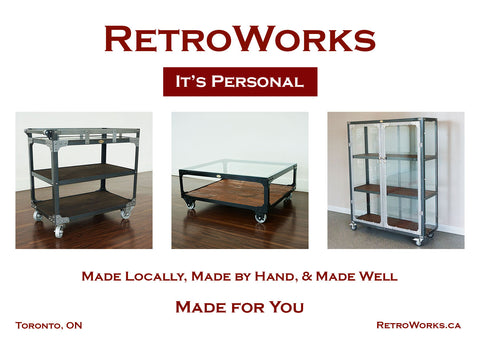 RetroWorks Custom Handcrafted Industrial Furniture