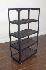 best Industrial bookshelf on casters