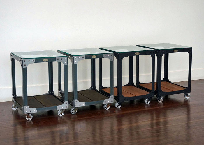 metal and wood end tables online
