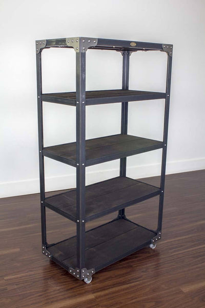 Your Custom Color - Industrial Bookcase