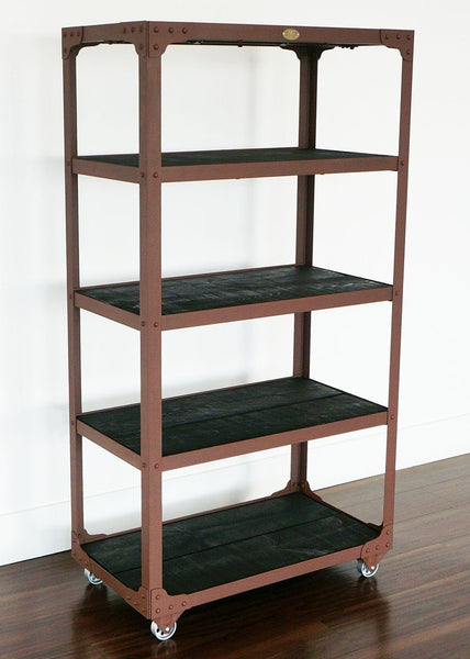 best handcrafted industrial shelf on casters Toronto online