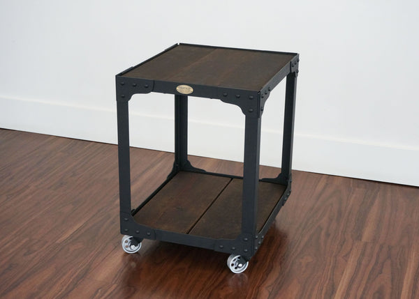 industrial end table ideal for condo home or office online