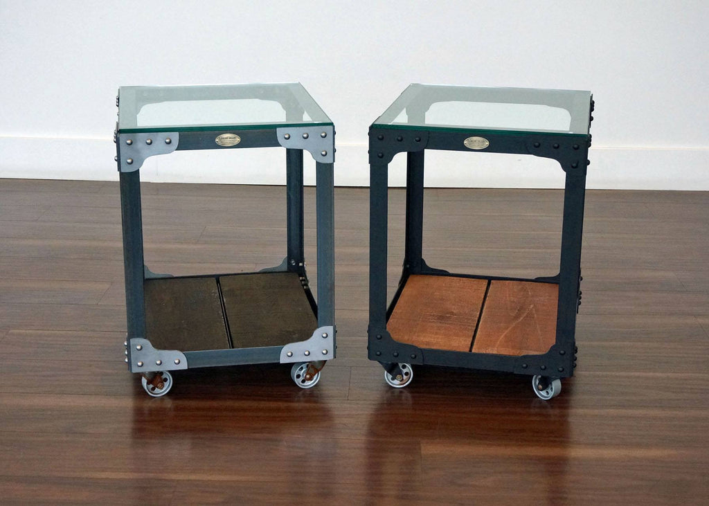 Industrial Side Table Custom Color