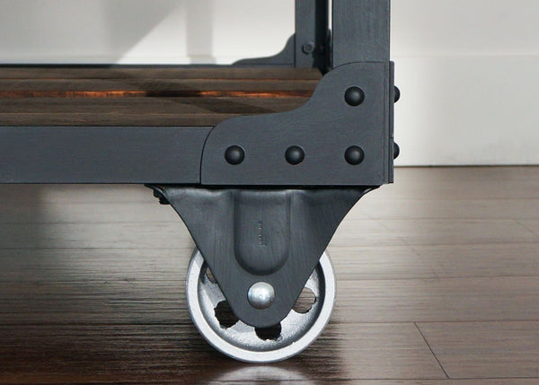 best industrial coffee table casters wheels