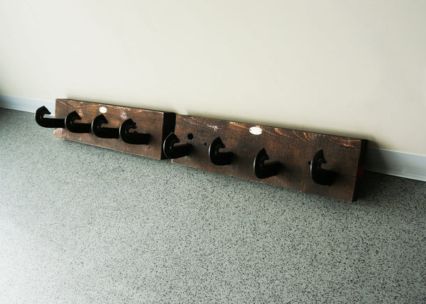 reclaimed rustic coat rack for cottage canada online