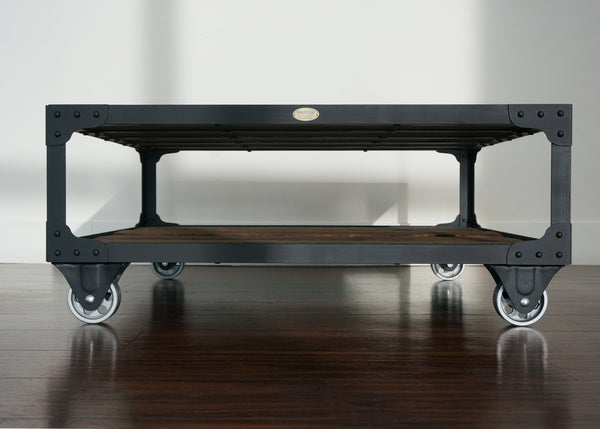 hottest coffee table in wood and steel in Ontario online