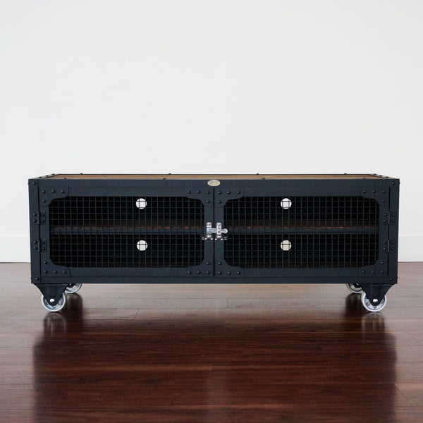 best steel and wood entertainment center Toronto