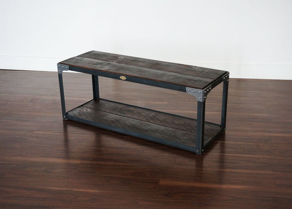 best matching industrial entryway table and bench GTA