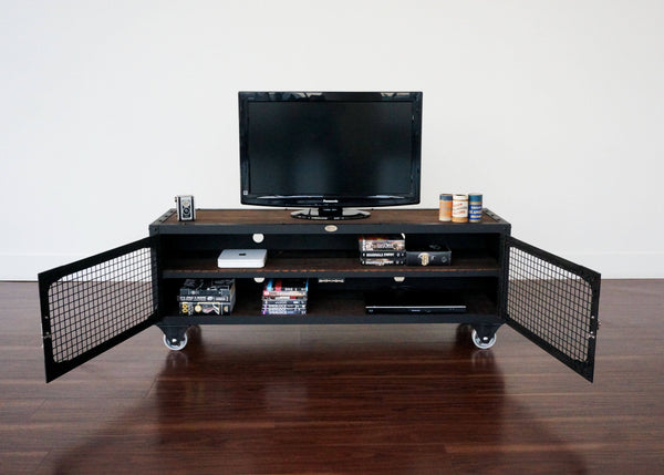 Industrial Media Console - San Francisco Telegraph Table