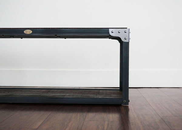 best steel and wood bench coffee table Ottawa