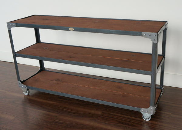handmade wide industrial shelf online