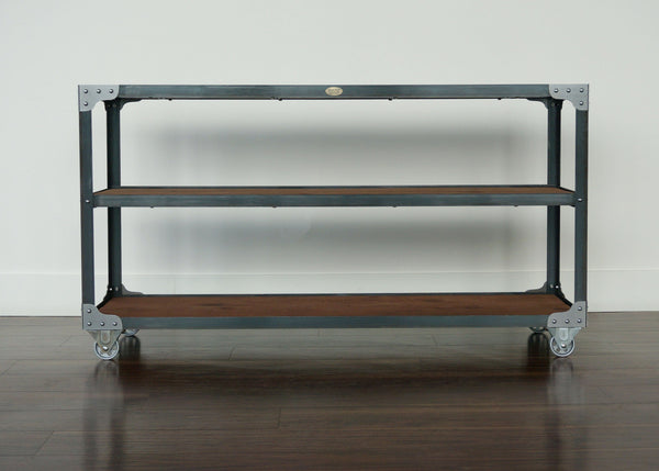 best wide industrial shelf on wheels