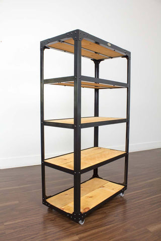 Industrial furniture bookcase Toronto
