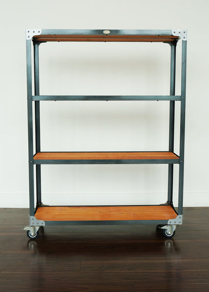 bespoke retail industrial display shelf online Canada