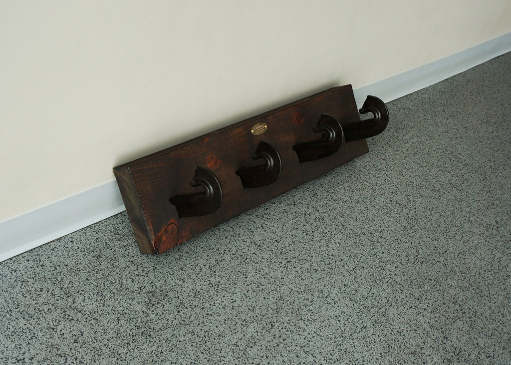 reclaimed handmade j hook coat rack online toronto