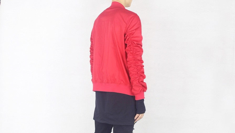 Red Hip Hop Bomber