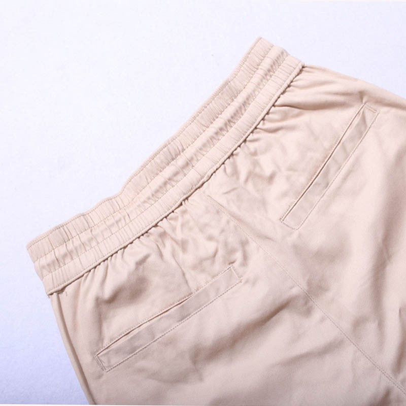 Side Zipper Trousers