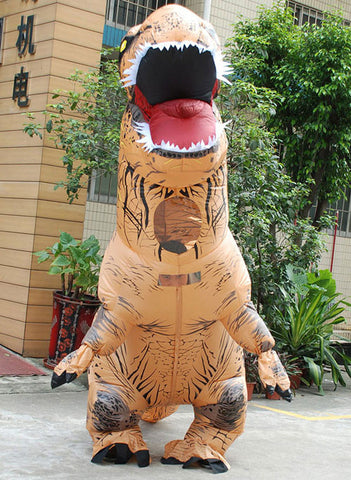 Giant Inflatable T-Rex Costume