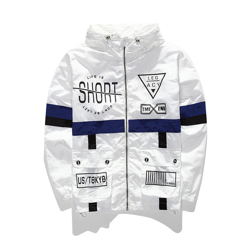 Lined Windbreaker