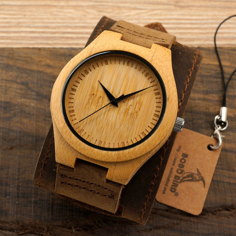 Japanese Bamboo Watch
