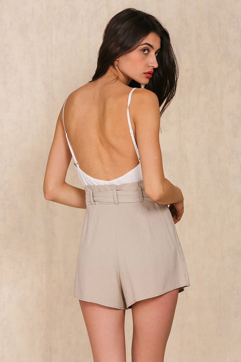 Backless Playsuit