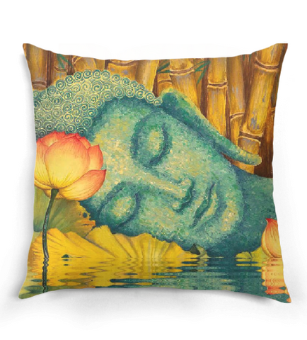 Buddha Lotus Pillow