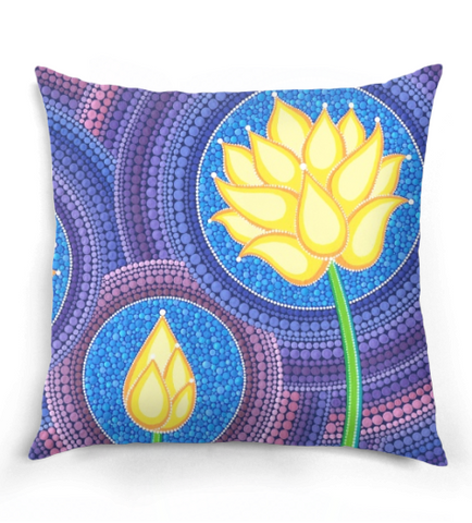 Dreamy Lotus Pillow